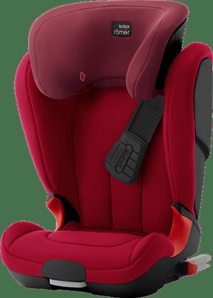 Römer KIDFIX XP Black 2017, Flame Red