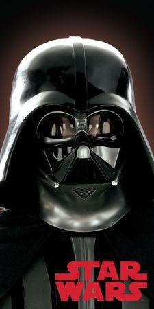 Jerry Fabrics brisača Star Wars Darth Vader 02 70x140 cm