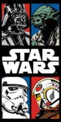 Jerry Fabrics ręcznik Gwiezdne Wojny komiks 70x140 cm