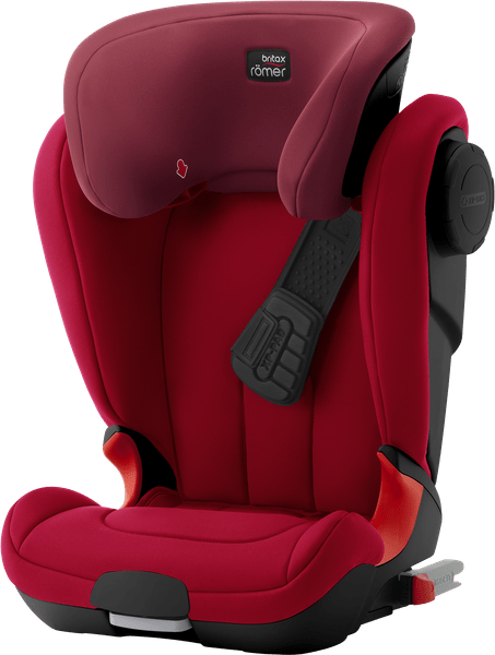Römer KIDFIX XP SICT Black 2017, Flame Red