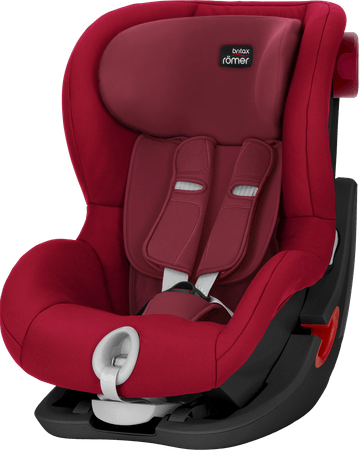 Britax Römer fotelik KING II Black 2018, 9 – 18 kg, Flame Red