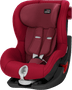 1 - Britax Römer fotelik KING II Black 2018, 9 – 18 kg, Flame Red