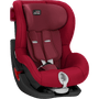 2 - Britax Römer fotelik KING II Black 2018, 9 – 18 kg, Flame Red