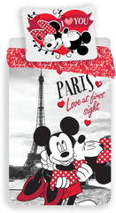 B.E.S. Petrovice povlečení Mickey and Minnie in Paris 140x200 70x90