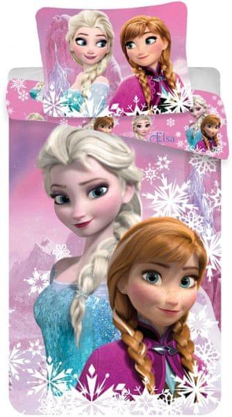 Jerry Fabrics povlečení Frozen duo sisters 140x200 70x90