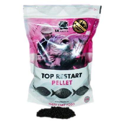 Lk Baits pelety top restart 4 mm 5 kg nutric acid + booster 100 ml