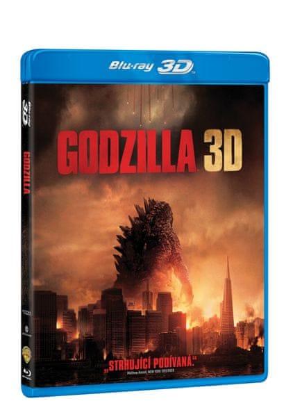 Godzilla 3D+2D (2 disky) - Blu-ray