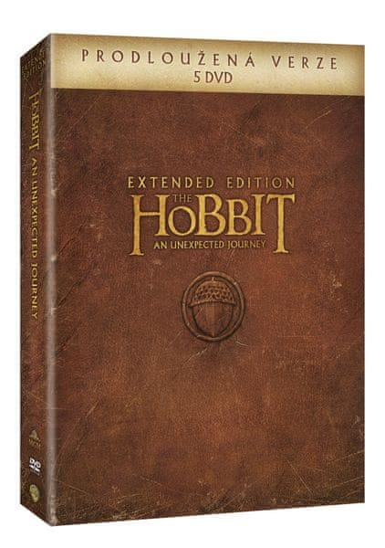 Hobit: Neočekávaná cesta - prodloužená verze (5DVD) - DVD