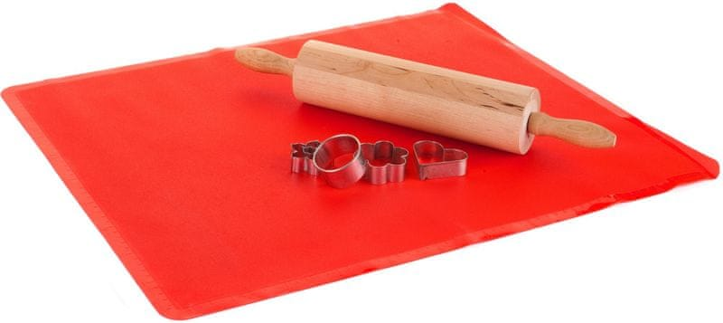 Banquet Silikonový vál Culinaria Red 50x40 cm