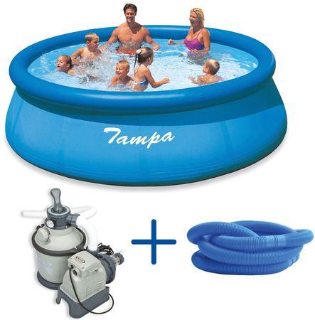 Marimex Bazén Tampa 3,66 x 0,91 m s pískovou filtrací Sand 4