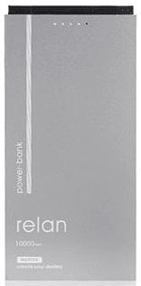 REMAX PowerBank RPP-65 Relan (10000 mAh), stříbrná