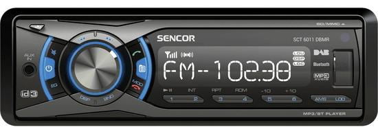 SENCOR radio samochodowe SCT 6011DBMR