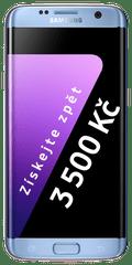 Samsung Galaxy S7 Edge, modrá + Cashback 3500 Kč!