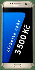 Samsung Galaxy S7 Edge, zlatá + Cashback 3500 Kč!