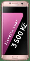 Samsung Galaxy S7 Edge, růžová + Cashback 3500 Kč!