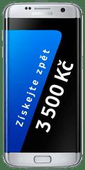 Samsung Galaxy S7 Edge, stříbrná + Cashback 3500 Kč!