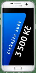 Samsung Galaxy S7 Edge, bílá + Cashback 3500 Kč!