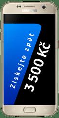 Samsung Galaxy S7, zlatá + Cashback 3500 Kč!