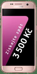 Samsung Galaxy S7, růžová + Cashback 3500 Kč!