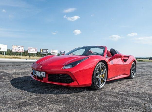 Poukaz Allegria - jízda snů ve Ferrari na 8 kol polygon Příbram