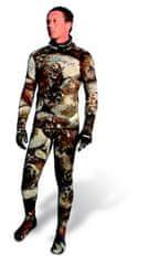 Oblek dvoudílný neoprénový na freediving Camu 3D 3 mm, Omer