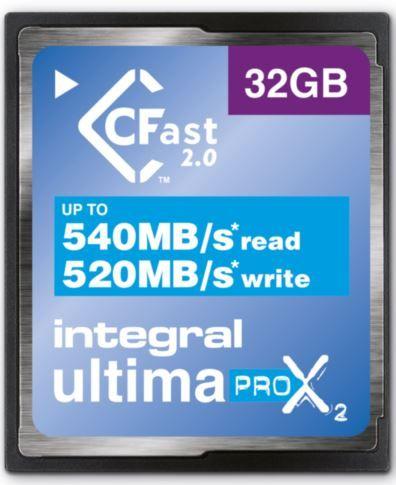 Integral spominska kartica UltimaPro 32GB X2 CFast 2.0