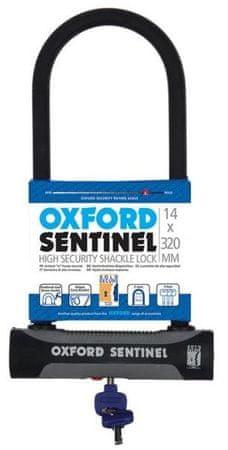 Oxford ključavnica U-lock Sentinel, črna