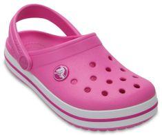 Crocs otroški čevlji Crocband Clog K, roza