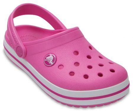 Crocs otroški čevlji Crocband Clog K, roza, 32.5