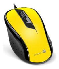 Connect IT mysz optyczna (CMO-1200-YL)