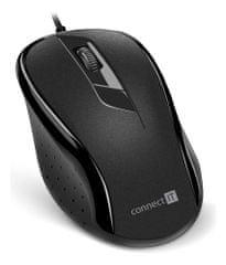 Connect IT optická myš, čierna (CMO-1200-BK)