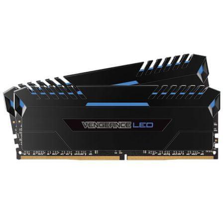 Corsair pomnilnik Vengeance 16GB (2x8GB) 3000MHz DDR4 Blue LED (CMU16GX4M2C3000C15B)