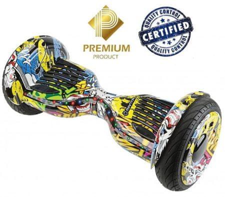 "Manta skuter rolka V-Rider Grand 10"" (MSB9012)"