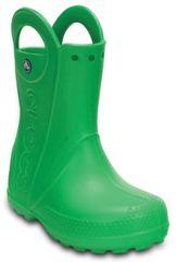 Crocs otroški škornji Handle It Rain Boot, zeleni