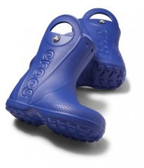 Crocs Handle It Rain Boot Kids Cerulean Blue