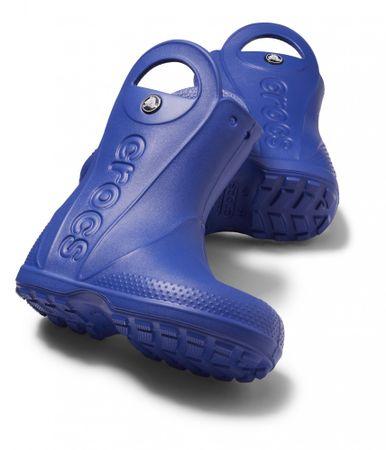 Crocs otroški škornji Handle It Rain Boot, modri, 30.5