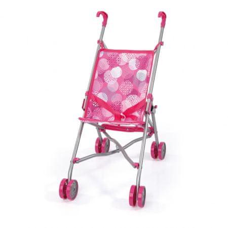 Bayer Design voziček za punčke Buggy, roza-siv