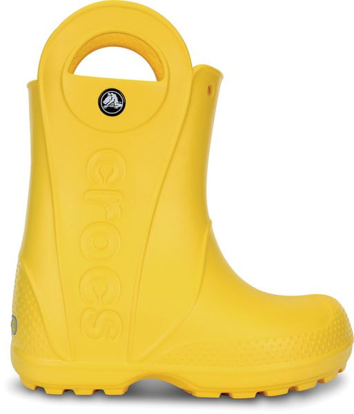 Crocs Handle It Rain Boot Kids Yel 25.5