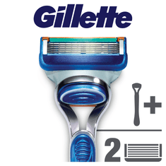 Gillette Fusion strojek + 2 hlavice