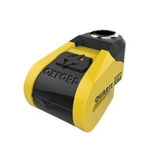 Oxford disk ključavnica z alarmom XA6, rumena-črna