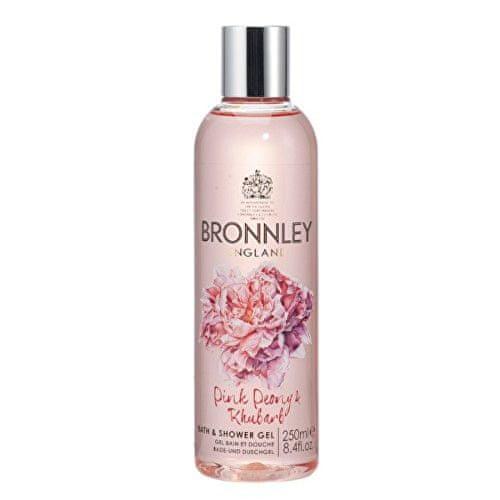 Bronnley Koupelový a sprchový gel Pivoňka a rebarbora (Bath & Shower Gel) 250 ml
