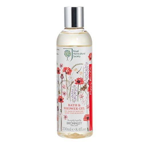 Bronnley Koupelový a sprchový gel Vlčí mák (Bath & Shower Gel) 250 ml