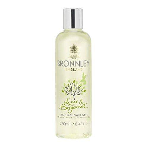 Bronnley Hydratační sprchový a koupelový gel Limetka & bergamot (Bath & Shower Gel) 250 ml