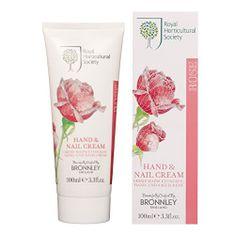 Bronnley Vyživující krém na ruce a nehty s romantickou vůní růží (Hand & Nail Cream) 100 ml