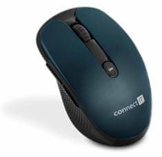 Connect IT bezdrátová optická myš, modrá (CMO-3000-BL)