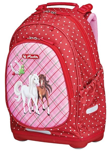 Herlitz Školní batoh Bliss Koně 4fe1331c42