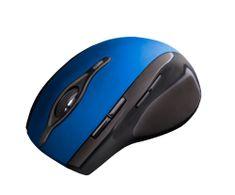 C-Tech bezdrátová myš, modrá (WLM-11B)