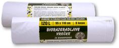 Piskar Oxo-Bio vreće za biološke otpatke 120 L / 8 komada / 2kpl