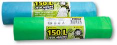Piskar vrećice za smeće 150 L / 10 komada s trakom / 2 kpl
