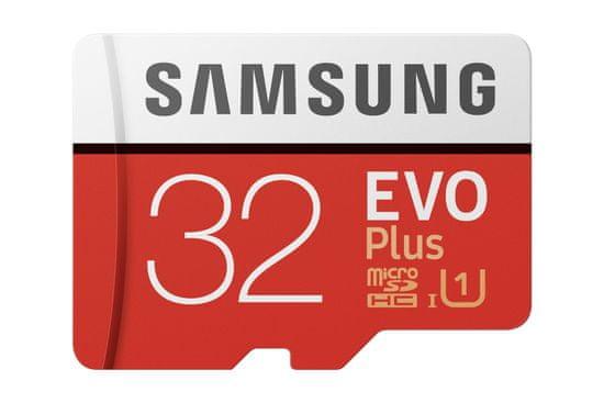 SAMSUNG micro SDHC 32GB EVO Plus + SD adaptér (MB-MC32GA / EU)